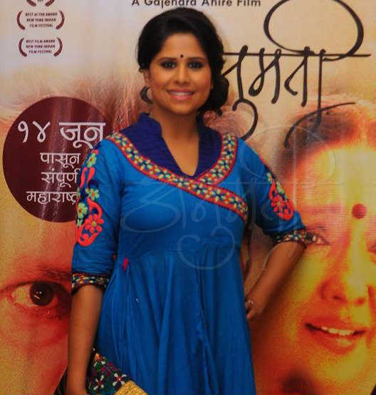 Sai Tamhankar in Anumati Marathi Movie