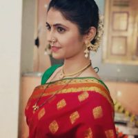 Veena Jagtap Marathi Actress Photo in Maharashtrian Look