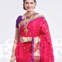 Sarita Mehendale Joshi Marathi Actress in Saree Png Image