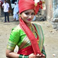 Shilpa Thakre Marathi Actress in Marathi Look