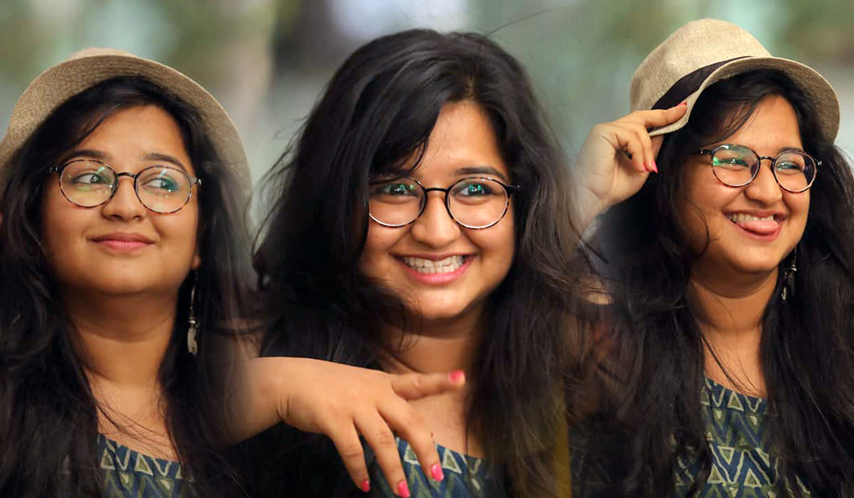 Anvita Phaltankar plays Rummy in Girlz Movie Actress