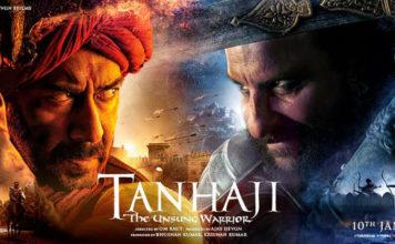 Tanhaji Bollywood Movie in Marathi Language - Ajay Devgan Sharad Kelkar Saif Ali Khan